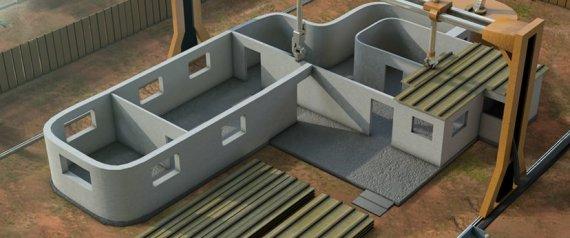 Impression 3D  24 heures pour fabriquer 10 maisons  4300  pice