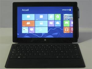 Microsoft Surface Pro 128 Go  Test complet  Ordinateur Portable  Les Numriques