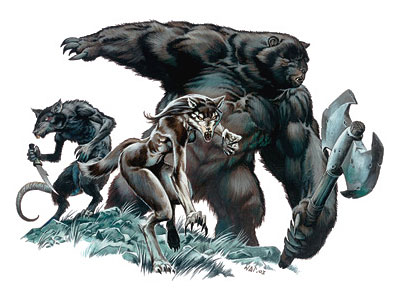 Image result for d&d lycanthrope