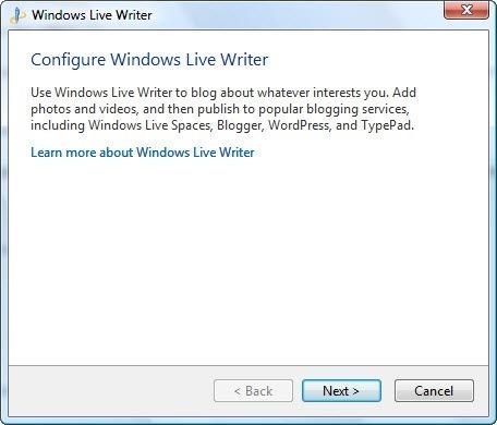 Использование Windows Live Writer для сайтов на Joomla