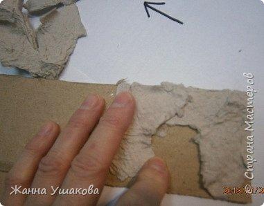 Из яичных лотков. Декоративные КАМНИ для отделки стен (13) (381x298, 71Kb)