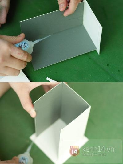 Из картона. Домик для чайных пакетиков. Мастер-класс (2) (400x532, 95Kb)