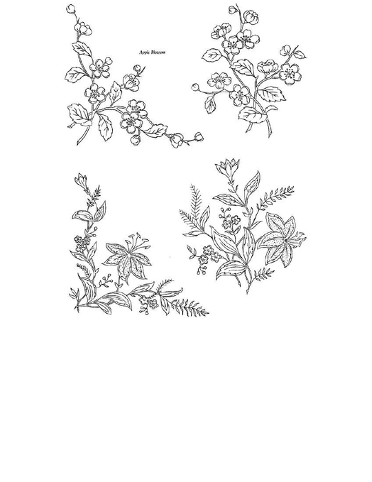 400 Floral Motifs for Designers, Needleworkers