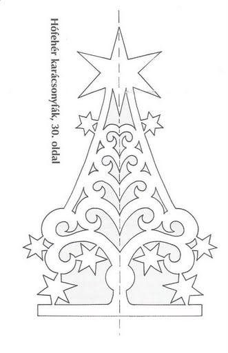 How To Knit: Kirigami Christmas tree, Christmas ornaments