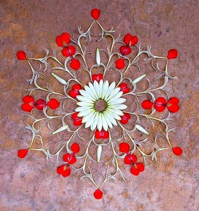 цветочные мандалы фото 21 (661x700, 218Kb)