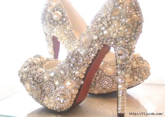 3блестящи обувки