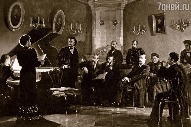 życie Musorgskiego Potężna Garstka Rosyjskich Kompozytorów