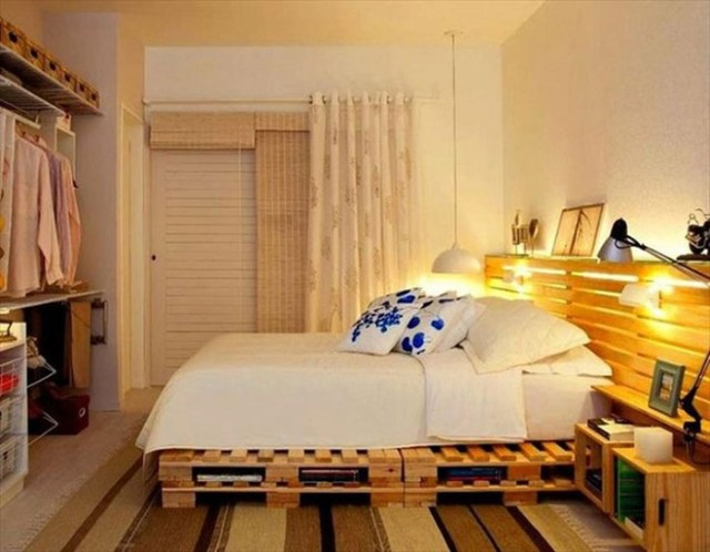 33 идеи для создания очаровательных кроватей из паллет