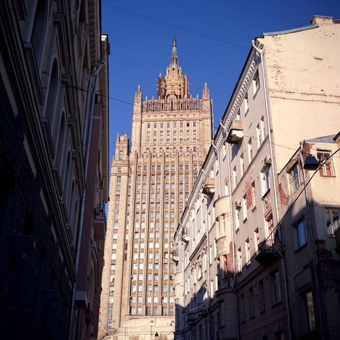 Красивая архитектура Москвы