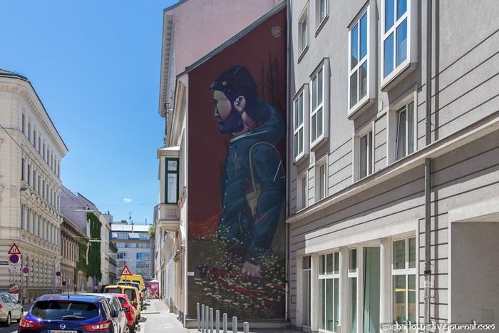 Александр Шевченко сфотографировал стрит арт в Вене, Австрия