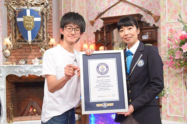 Японец стал самым быстрым в мире по щелканью пальцами