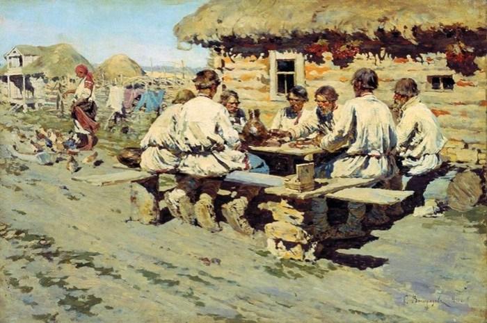 Еда крестьян в XIX веке