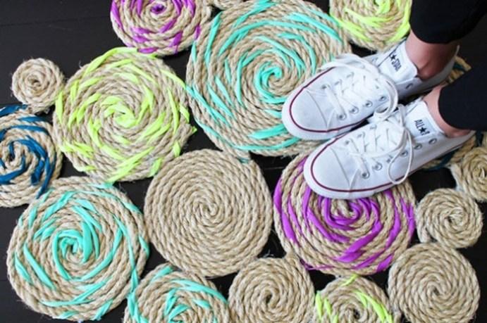 15 способов превратить обычную веревку в дизайнерскую штучку