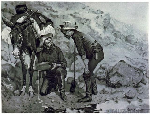 История алмазной аферы 1872 года в Калифорнии