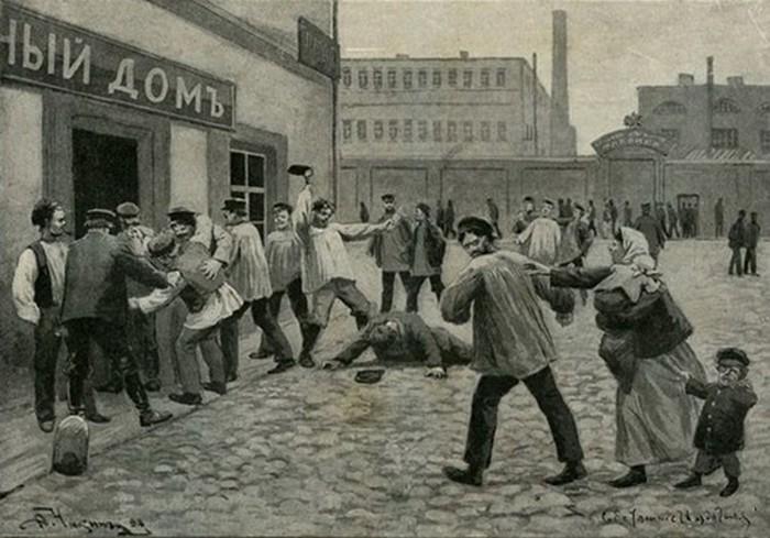 Жесткие питейные традиции России
