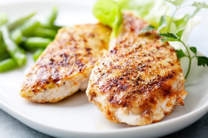 Мясо в духовке: диетический рецепт