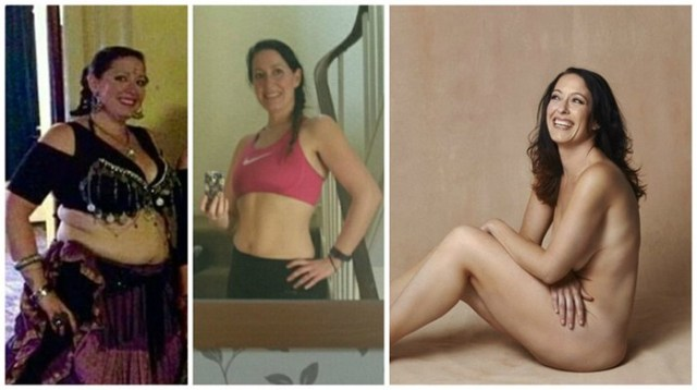 Откровенная фотосессия женщин, которые вместе похудели на 170 килограмм
