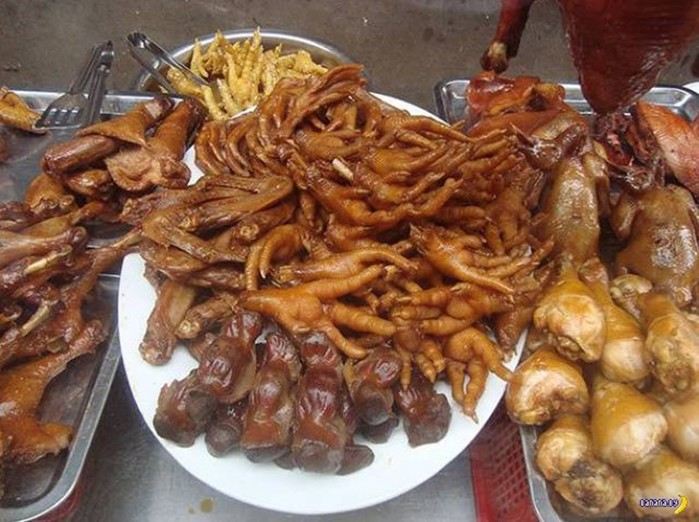 Немного шокирующая еда в разных странах