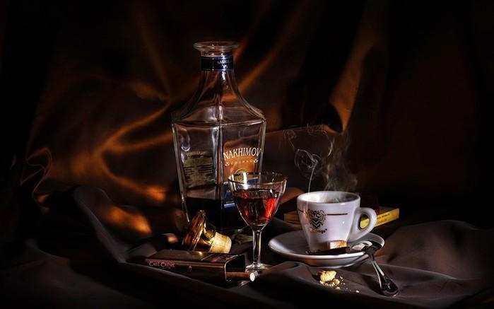 Коньяк считается мужским напитком...