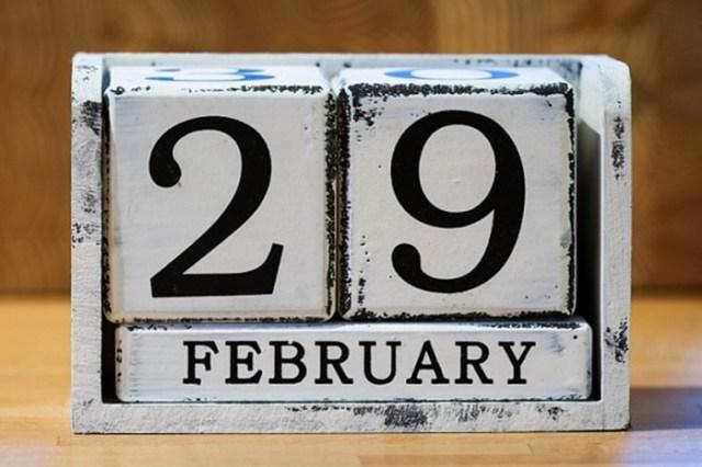 Самый редкий день— 29 февраля