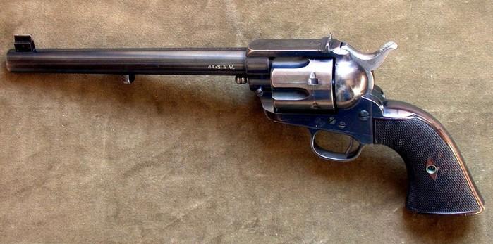 Кольт: как револьвер стал легендой