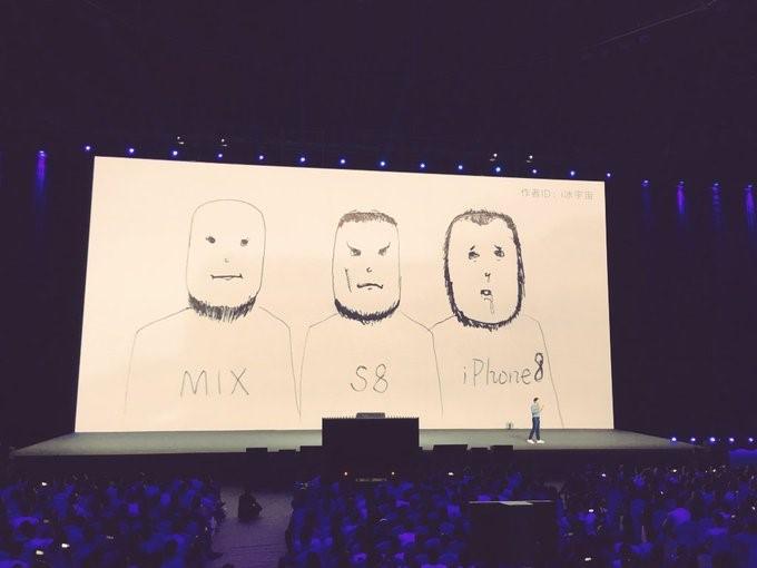 Как Xiaomi издевалась над iPhone8 в твиттере