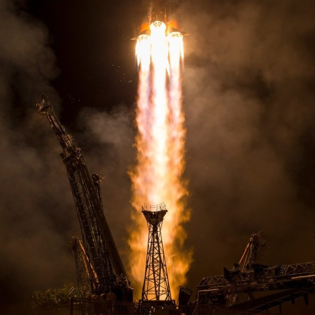 Старт космического корабля «Союз МС 06»