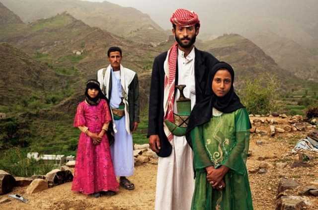 Юные невесты в странах Азии