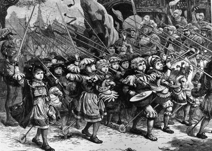 Почему крестовый поход детей обернулся трагедией
