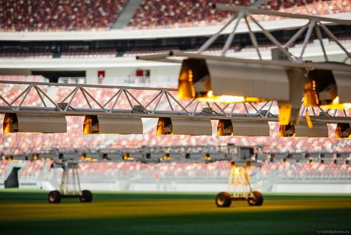 Как сейчас выглядит самый большой стадион России