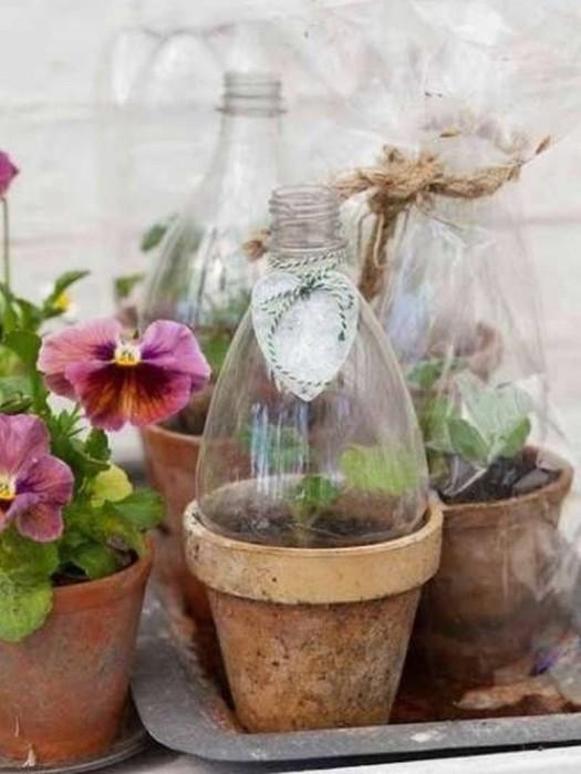 Бытовые полезности из пластиковых бутылок