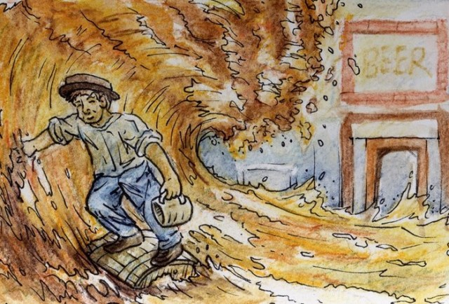 Пивное цунами 1814 года в Лондоне
