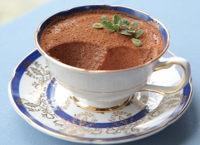 Творожный десерт с какао
