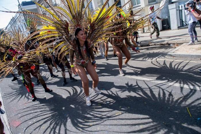 Карибский карнавал в столице Туманного Альбиона