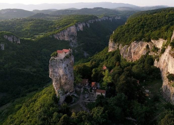 Грузия с высоты птичьего полета