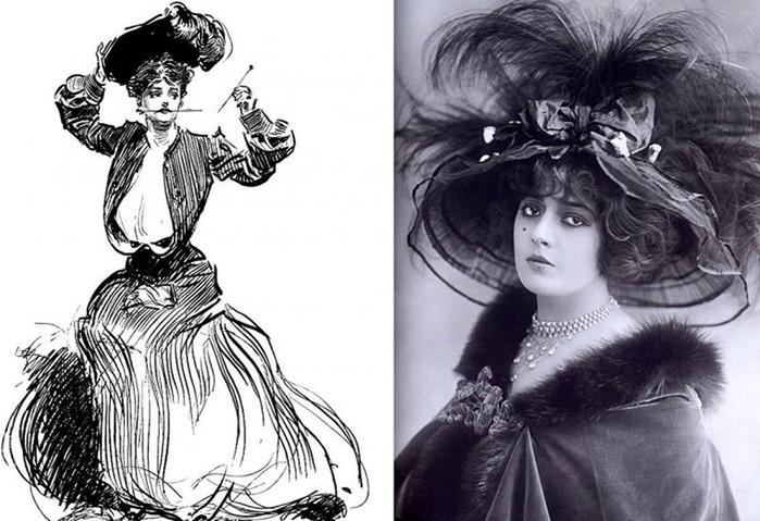 Что использовали модницы прошлого века в качестве самообороны