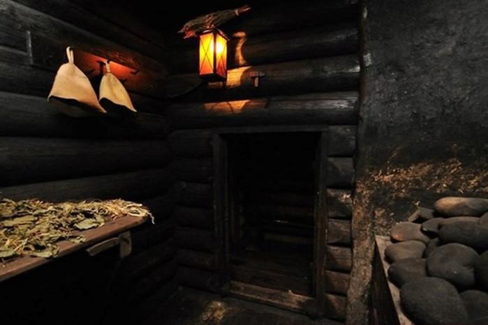 Баня по черному: почему она полезней обычной бани