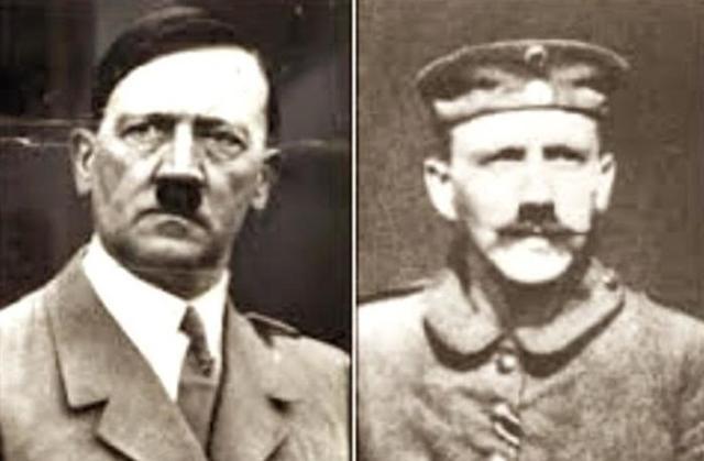 Почему у Гитлера были усы как у Чарли Чаплина?