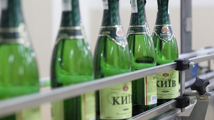 История Киевского завода шампанских вин