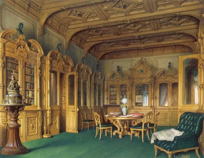Роскошь особняка крупнейшего российского финансиста и мецената барона Штиглица
