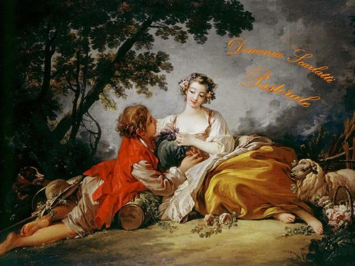 Композитор Доменико Скарлатти (1685–1757), Италия