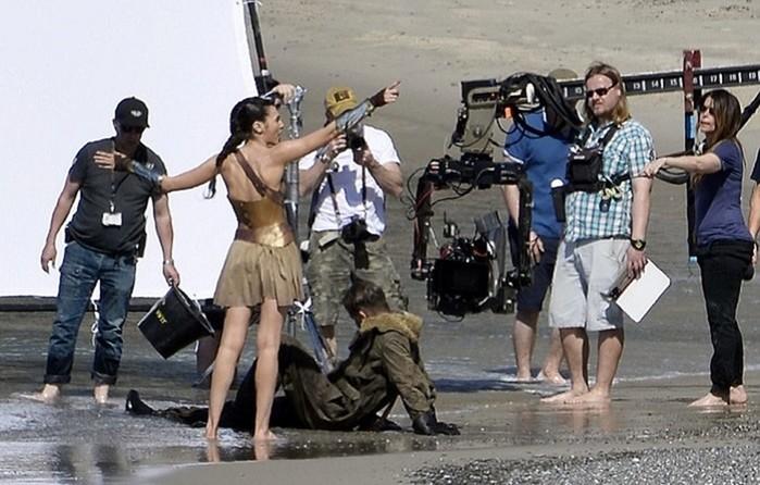 Места съемок фильма «Чудо женщина»