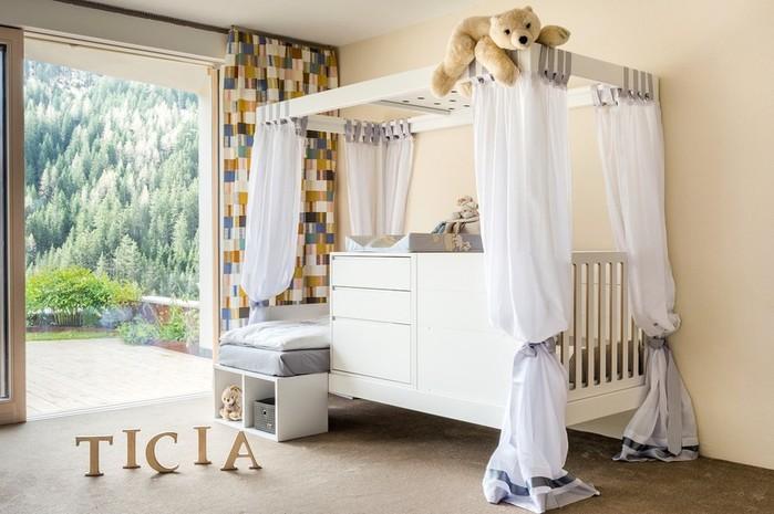 Кровать, которая растет вместе с ваши ребенком! Трансформер Ticia