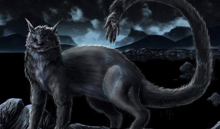 Ужасающие существа из мистических озер