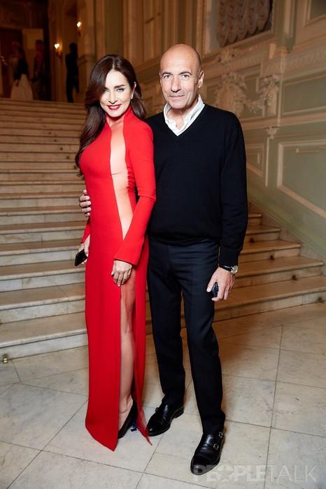 Прозрачное платье супруги Игоря Крутого вызвало фурор на балу журнала Tatler