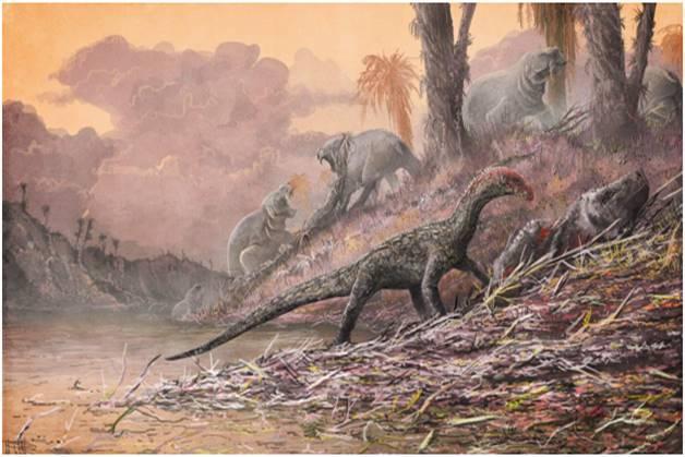 Шок! Найден доисторический монстр с 50 ю ногами