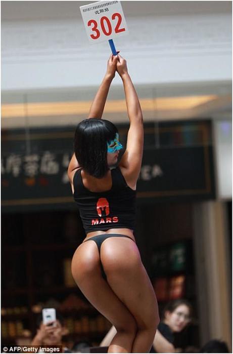 Мисс «Самые красивые ягодицы Китая» вынуждена носить мешковатую одежду