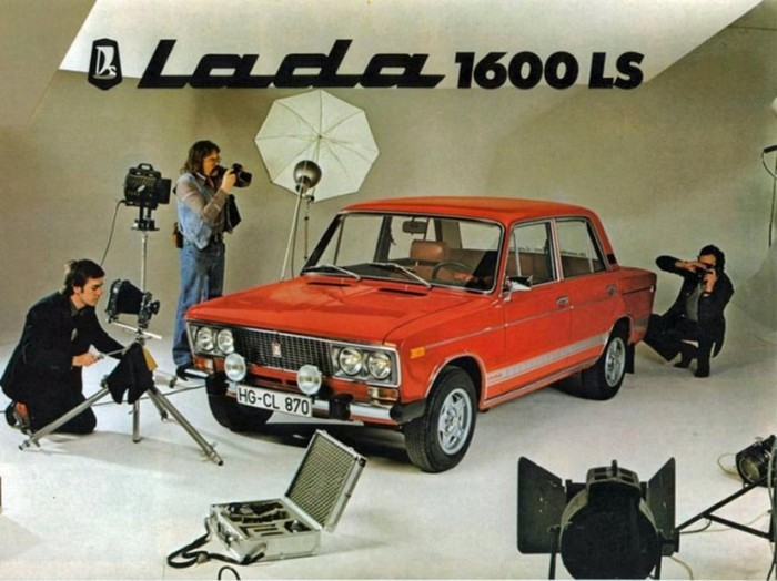 Реклама автомобилей в СССР   фотографии
