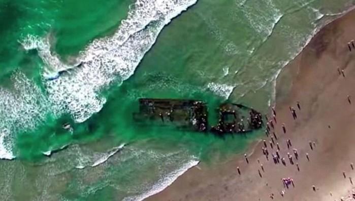 В Калифорнии найден российский корабль призрак