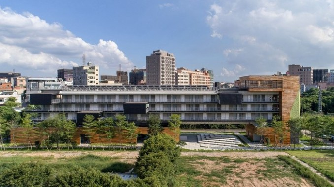 Китайское общежитие компании Vanke в провинции Гуандун